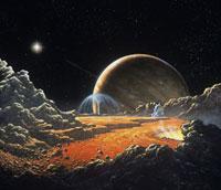 Artist's impression of Io