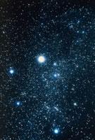 Constellation Auriga with halo effect