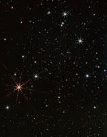 Star Antares in the constellation of Scorpius
