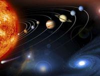 Solar system planets 01809024486  写真素材・ストックフォト・画像・イラスト素材 アマナイメージズ