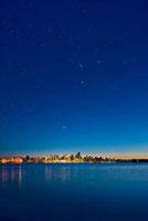Stars over Vancouver,Canada 01809024919| 写真素材・ストックフォト・画像・イラスト素材|アマナイメージズ