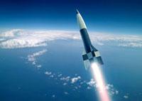 First V-2 rocket launch,artwork 01809025348  写真素材・ストックフォト・画像・イラスト素材 アマナイメージズ