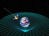 Gravity Probe B satellite,artwork