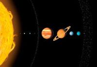 Solar system planets,artwork 01809025454| 写真素材・ストックフォト・画像・イラスト素材|アマナイメージズ