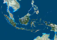 Indonesia,satellite image