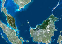 Malaysia,satellite image