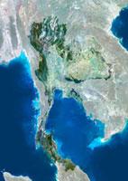 Thailand�Csatellite image