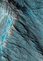 Martian landslides 01809025906| 写真素材・ストックフォト・画像・イラスト素材|アマナイメージズ
