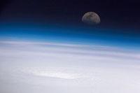 Hurricane Emily,ISS image