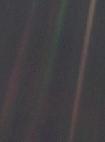 Pale Blue Dot, Voyager 1 image