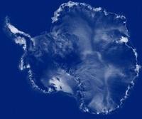 Antarctica, RADARSAT image