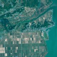 Minami Sanriku, Japan, satellite image