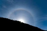 Solar halo 01809026725| 写真素材・ストックフォト・画像・イラスト素材|アマナイメージズ