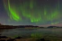 Green Aurora Borealis 01809026898| 写真素材・ストックフォト・画像・イラスト素材|アマナイメージズ