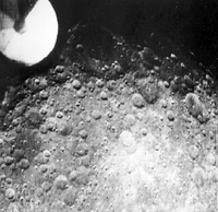Moon's surface, Zond 3 image
