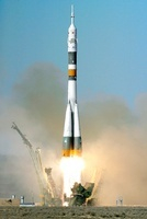 Soyuz TMA-12 launch, April 2008
