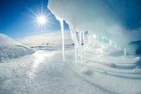 Melting Arctic ice, Canada