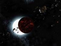 Upsilon Andromedae planetary system 01809027059| 写真素材・ストックフォト・画像・イラスト素材|アマナイメージズ