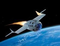 SpaceShipOne, artwork 01809027322| 写真素材・ストックフォト・画像・イラスト素材|アマナイメージズ
