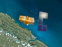SPOT 4 satellite, artwork 01809027726| 写真素材・ストックフォト・画像・イラスト素材|アマナイメージズ