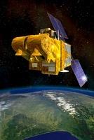 SPOT 4 satellite, artwork