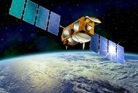 Jason-1 satellite, artwork 01809027730| 写真素材・ストックフォト・画像・イラスト素材|アマナイメージズ
