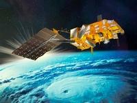 MetOp weather satellite, artwork 01809027732| 写真素材・ストックフォト・画像・イラスト素材|アマナイメージズ