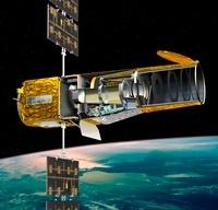COROT satellite, artwork 01809027735| 写真素材・ストックフォト・画像・イラスト素材|アマナイメージズ