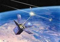 Cerise satellite collision, artwork