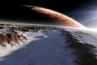 Alien moons, artwork