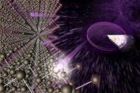 Dark matter, conceptual image