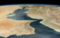 Strait of Hormuz, satellite image