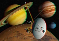 Voyager spacecraft, stereo image