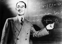 Hideki Yukawa, Japanese physicist 01809028742| 写真素材・ストックフォト・画像・イラスト素材|アマナイメージズ