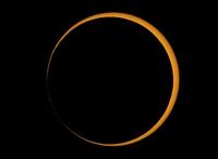 Annular solar eclipse, 2005