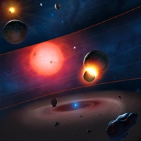 Evolution of a Planetary System