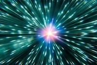 Neutrino burst, conceptual image