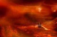 Venus probe, conceptual image