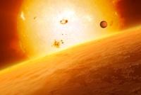 HD 15082 b exoplanet, artwork