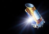 Kepler Mission space telescope, artwork