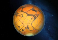 Schiaparelli's Mars, artwork