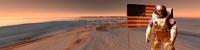 Mars exploration, artwork
