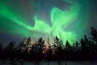 Aurora borealis 01809029848| 写真素材・ストックフォト・画像・イラスト素材|アマナイメージズ