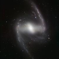 Spiral galaxy NGC 1365, HAWK-I image