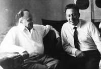 Zhores Medvedev and Vladimir Efroimson