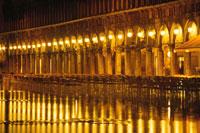 サンマルコの夜の風景 ベニス イタリア 01815000755| 写真素材・ストックフォト・画像・イラスト素材|アマナイメージズ