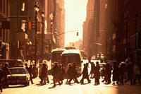 ミッドタウン街並   ニューヨーク アメリカ
