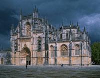 勝利のサンタマリア修道院 バターリャ ポルトガル