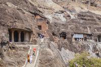 アジャンタ石窟 01881421382| 写真素材・ストックフォト・画像・イラスト素材|アマナイメージズ
