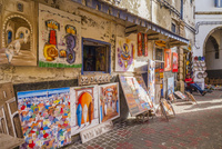 旧市街の店